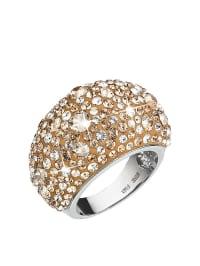 Swarovski Silber-Ring mit Swarovski-Kristallen