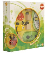 """Go Toy Holz-Stapelspielzeug """"Set C"""" - ab 12 Monaten"""