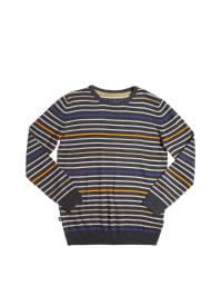 """Billabong Pullover """"Spacer Boy"""" in Anthrazit/ Grau/ Orange"""