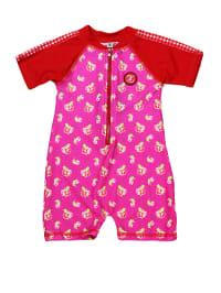 "Zee&Zo Schwimmanzug ""Hoola"" in Pink/ Rot"
