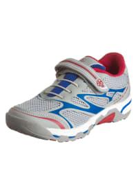 """Swissies Sneakers """"Chris"""" in Grau/ Blau/ Rot"""