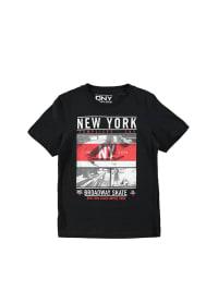 Complices Shirt in Schwarz/ Grau/ Rot