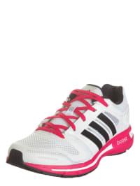 Adidas Laufschuhe in Weiß/ Pink/ Schwarz