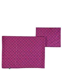 Green Cotton Bettwäsche-Set in Lila/ Pink