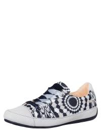 "Desigual Sneakers ""Mayo"" in Weiß/ Schwarz"
