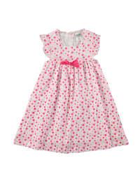 """Jacky Kleid """"Dresses"""" in Weiß/ Pink"""