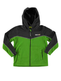 "Regatta Fleecejacke ""Marty"" in Grün/ Schwarz"
