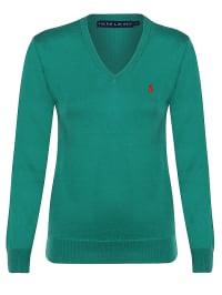 Ralph Lauren Pullover in Grün/ Rot