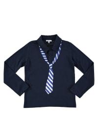 """Louis & Louisa Poloshirt """"Krawatte"""" in Dunkelblau"""