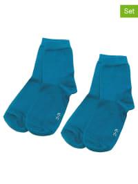 Ewers 4er-Set: Socken in Blau