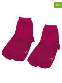 Ewers 4er-Set: Socken in Fuchsia