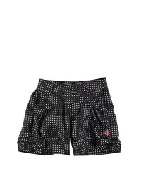 Lilou Secret Shorts in Schwarz/ Weiß