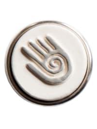 """NOOSA Chunk """"Hopi Hand"""" in Weiß/ Silber"""