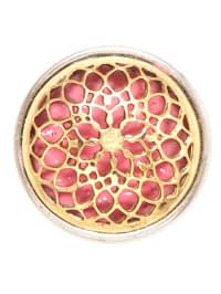"NOOSA Chunk ""Rose Window"" in Koralle/ Gold"