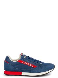 Diesel Sneakers in Blau/ Rot