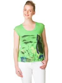 "Yest Shirt ""Kaial"" in Grün/ Bunt"