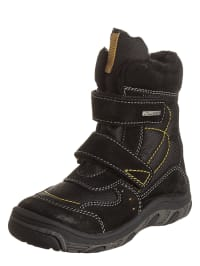 Ciao Leder-Boots in Schwarz