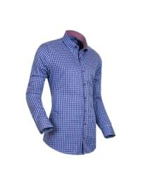StyleOver Hemd in Blau/ Hellblau