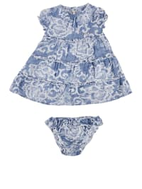 Replay 2tlg. Outfit in Blau/ Weiß