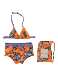 "Retour Bikini ""Lois"" in Orange/ Lila"