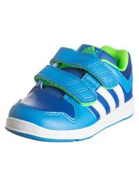 "Adidas Sneakers ""LK Trainer 6 CF"" in Blau/ Grün"