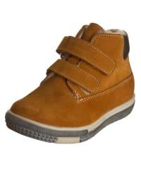 """Minibel Leder-Sneakers """"Joanlim"""" in Hellbraun"""