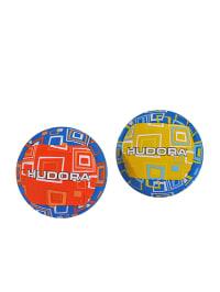 Hudora Beachwurfbälle - ab 6 Jahren in Rot/ Blau/ Gelb