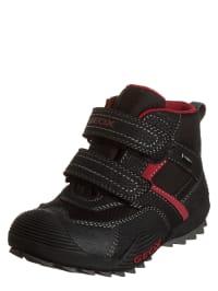"Geox Boots ""Savage B"" in Schwarz/ Rot"