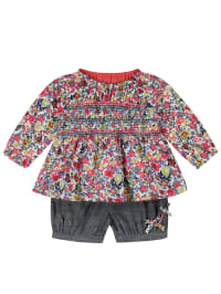 Lilly and Sid 2tlg. Outfit in Bunt/ Grau
