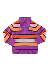 "Ticket2heaven Pullover ""Herdis"" in Lila/ Orange"