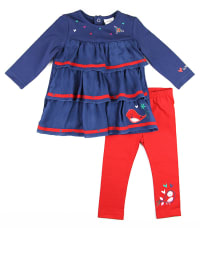 "What´s up Kids 2tlg. Outfit ""Dolce Vita"" in Blau/ Rot"