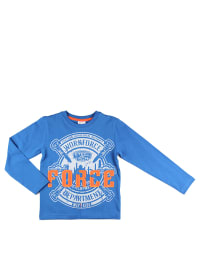 "What´s up Kids Longsleeve ""Tools"" in Blau/ Weiß/ Orange"