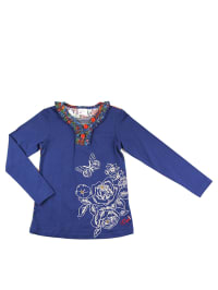 "What´s up Kids Lonsgleeve ""Cosy and Warm"" in Blau/ Bunt"