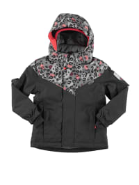 Name it Ski-/ Snowboardjacke in Anthrazit/ Grau/ Apricot