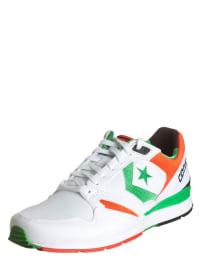 "Converse Sneakers ""Wave Racer OX"" in Weiß/ Orange/ Grün"