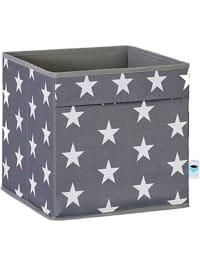 BigsoBox Ordnungsbox in Grau - (B)30 x (H)30 x (T)30 cm