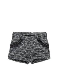 """Pampolina Shorts """"Sweet"""" in schwarz/ weiß"""