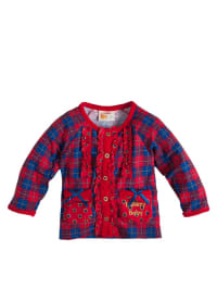 Dutch Bakery Cardigan mit Karo-Muster in rot/ blau