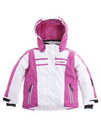 Hyra Ski-/ Snowboardjacke in weiß/ pink